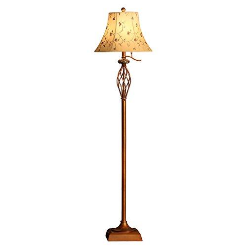 Hmvlw Retro Sala de Estar Lámpara Americana Salón Dormitorio de Noche Antiguo Vertical Lámpara de Tela for transferencias