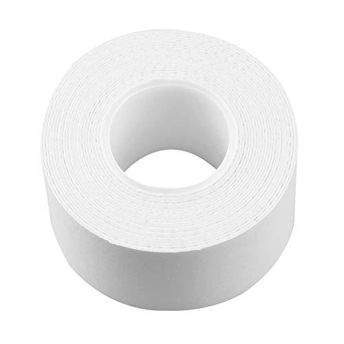 衣類用布シール 無地 ホワイト シャツ 襟 テープ 袖口や襟の皮脂汚れを防止 使い捨て 縫い付け不要 trendyest