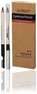 Make-Up Big Eyes Exquisite Shaping Eyebrow Pencil 1.5gX6, F014-01 black 6pcs value pack