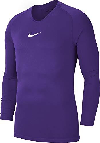 Nike Herren PSG Paris Saint-Germain Covert Fleece Hoody AW77, Grau, S, 629724-066