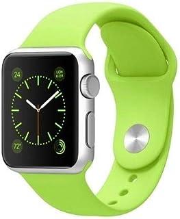 Silikon Klockarmband Apple Watch, 42/44mm, Limegrön