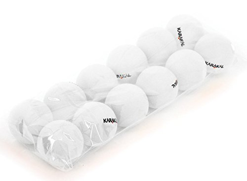 Review Of Karakal Table Tennis Balls x12 - White