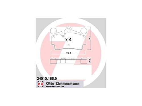 ZIMMERMANN 24010.165.9Serie Bremsbeläge, vorne, inklusive Platte dämpfend