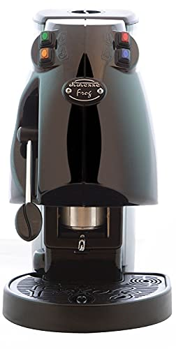 Diesse Frog - Máquina de café en cápsulas de papel ESE 44mm, color negro