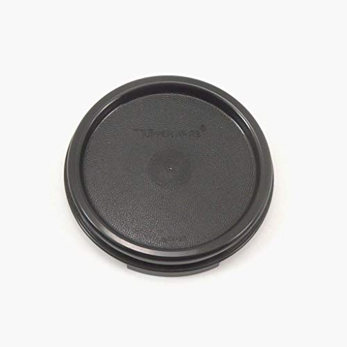 Tupperware Modular Mates Round Black Lid Replacement 1607
