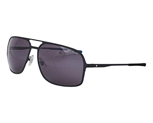 Mont Blanc Hombre gafas de sol MB0104S, 001, 62