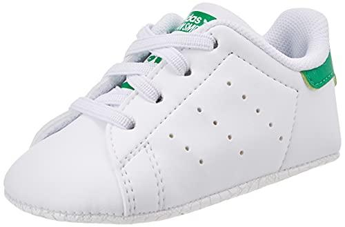 adidas Stan Smith, Scarpe da Ginnastica Uomo, Bianco (Ftwr White/Ftwr White/Ftwr White Ftwr White/Ftwr White/Ftwr White), 43 1/3 EU