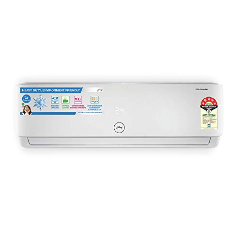 Godrej 1.5 Ton 5 Star Inverter Split AC (Copper GIC 18HTC5-WTA White)