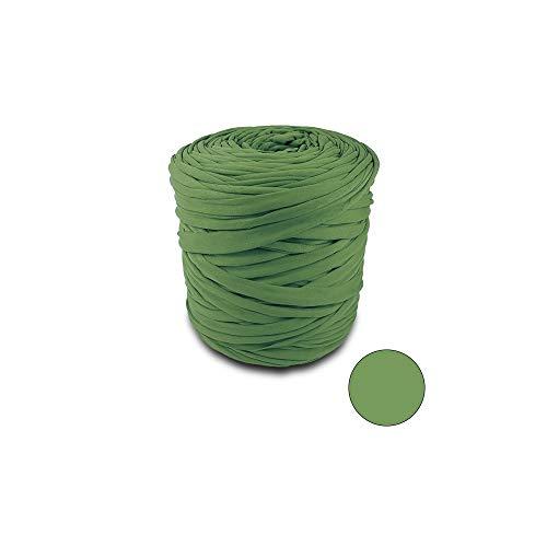 Il! Fettuccia in Lycra Verde Militare Bobina 20 mt