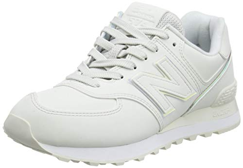 New Balance 574 WL574CLD Medium, Basket Femme, White (Nimbus Cloud CLD), 43 EU