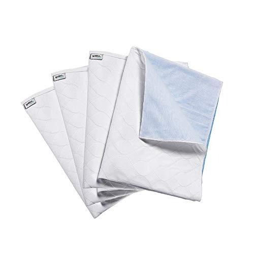 Amazon Brand - Umi Almohadillas Reusables Lavables Incontinencia Absorbente Láminas - 4*(70 x 90 cm) ✅