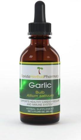 Florida Herbal Pharmacy Special sale item Garlic Extrac Max 62% OFF Allium Tincture sativum