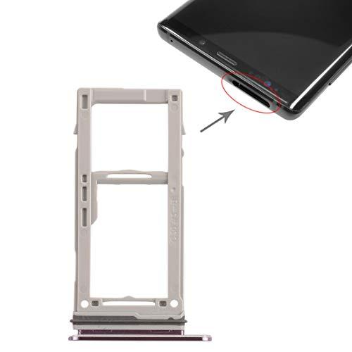 ASAMOAH Pieza de la Tarjeta SIM del reemplazo del teléfono Celular Tarjeta SIM Tray + Tarjeta SIM Tray/Micro SD Tarjeta Bandeja para Galaxy Note9