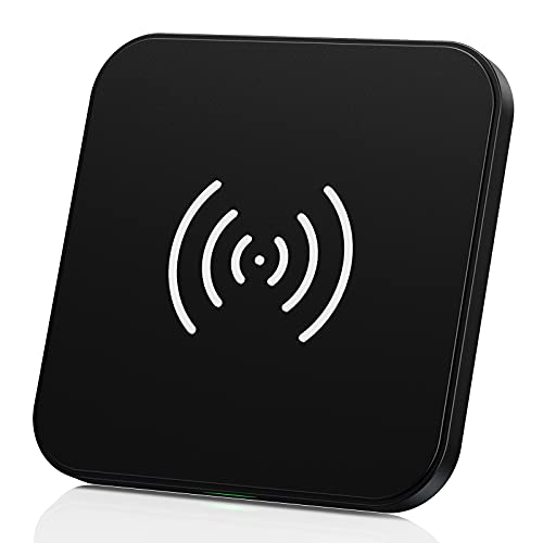 CHOETECH Cargador Inalámbrico, Fast Wireless Charger, 7.5W para iPhone12/12Pro/11/11pro/X/XS/XR/8, 10W Carga Rápida Samsung S20+/S10/S10+/S9/S8/Note 20/Note10 y 5W Xiaomi 9/Huawei P30 Pro, Airpods2