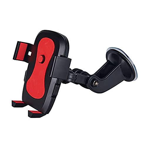 USNASLM Soporte giratorio del teléfono del coche del lechón de la articulación del vehículo del parabrisas del tablero de instrumentos de succión del