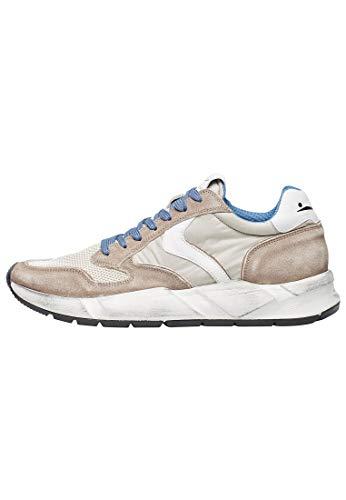 VOILE BLANCHE ARPOLH Easy-Sneaker in Suede Vintage e Tessuto Tecnico Beige 42