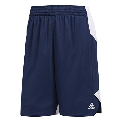 adidas W Crzy Expl SHO Pantalón Corto, Mujer, Azul (Maruni/Blanco), 3XLT