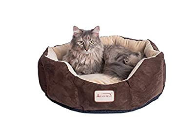 an octagon shaped cat bed by armarkat