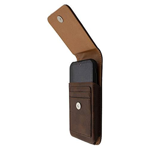 caseroxx Handy Tasche Outdoor Tasche für Gigaset GX290 / GX290 Plus, mit drehbarem Gürtelclip in braun