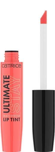 Catrice Ultimate Stay Waterfresh Lip Tint, Nr. 020 Stay On Over, orange, pflegend, schnelltrocknend, langanhaltend, sofortiges Ergebnis, farbintensiv, intensiv, vegan, ohne Parfüm, ölfrei (5,5g)