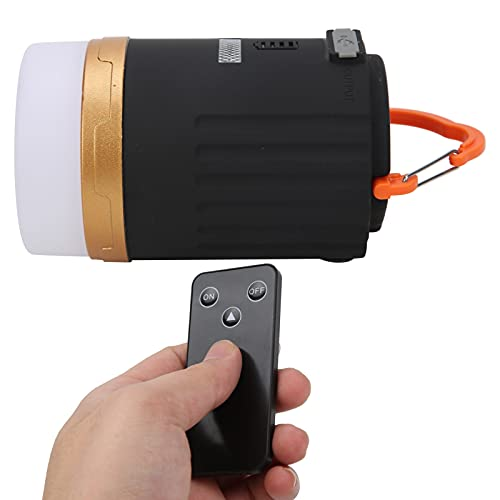 Snufeve6 Luz de la Tienda, Linterna Que acampa de 4800mAh LED Regulable para Acampar para IR de excursión