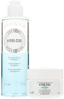 Perlier Hydro-Zone Oxygen Face Cream & Bi-Phase Cleanser 2-piece Set