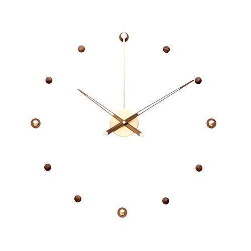 AIOJY Atmósfera Reloj De Pared Creativo Moda Simple Muchacha Grande Mujer Mute No Ticking Dormitorio