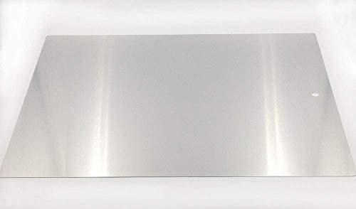Sugar and Cakes Tortenunterlage 43 x 32 cm Rechteckig Arbeitsplatte Kuchenheber Tortenretter Heber Aluminium Profiqualität