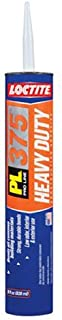 Loctite PL 375 Heavy Duty VOC Latex Construction Adhesive 28-Ounce Cartridge (1390599)