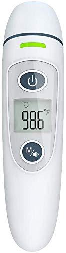 Thermometer Voorhoofd, Digitale Voorhoofd en Oor Infrarood Thermometer Standaard Handheld Niet-Contact Handige Baby Medische Thermometer, Paars_14.9x7.7x4.3cm