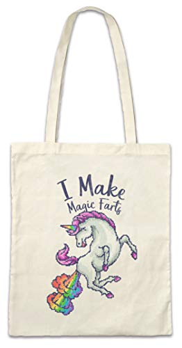 Urban Backwoods I Make Magic Farts Hipster Bag Beutel Stofftasche Einkaufstasche