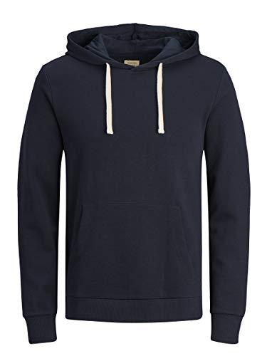 Jack & Jones Jjeholmen Sweat Hood Noos Capucha, Azul (Navy Blazer Fit:Reg Fit), Medium para Hombre