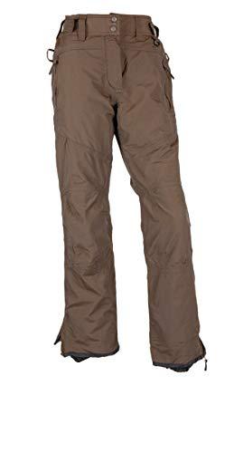 Crivit Damen Snowboardhose Skihose Winterhose Schneehose - Braun, 38 (Farbe: Braun, Größe: 38)