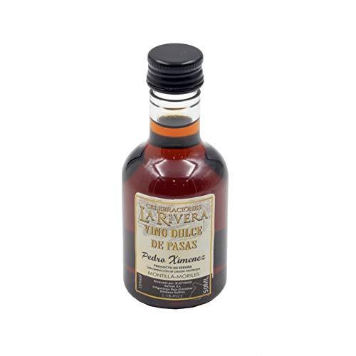 """Lote de 15 Botellas de Vino Dulce"""" Pedro Ximenez-La Rivera"""" Licores. Regalos Originales. Complementos. Detalles para Bodas, Comuniones, Bautizos y Cumpleaños. CC"""