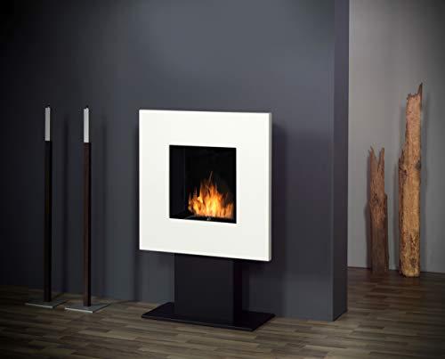 Muenkel design Square Fire 75 [vierkante bio-ethanol staande haard]: wit