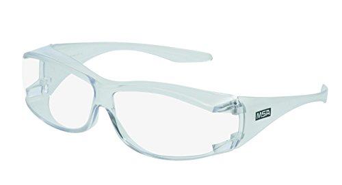MSA Safety 10145576motura de gafas de seguridad, OverG, claro, TUFFSTUFF, 12x ✅