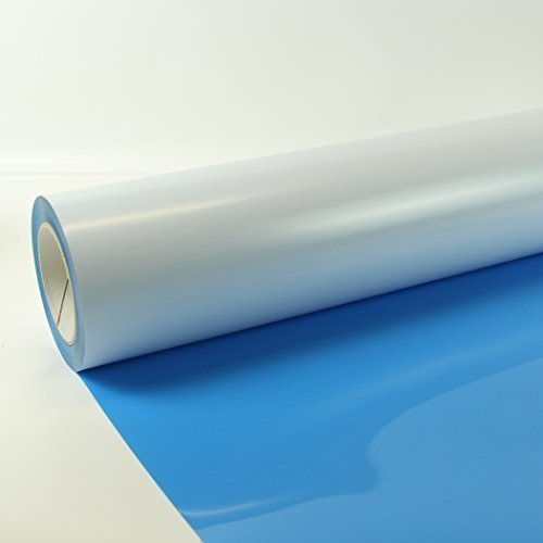 22,48€/m² 1m x 0,5m Poli-Flex Premium Folie Light Blue 403 Flexfolie Buegelfolie Poli-Flex