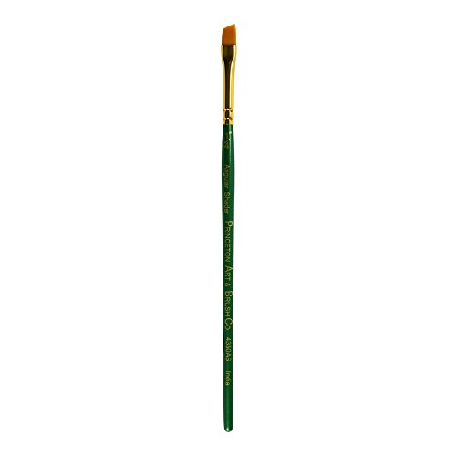Princeton Series 4350 Synthetic Watercolor & Acrylic Brushes 1/4 in. Angular Shader