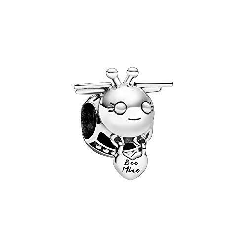 Pandora Bee Mine, ciondolo a forma di ape, argento, 1,6 cm
