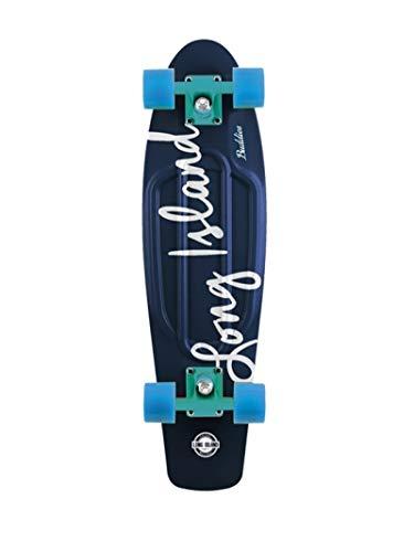 Long Island All Over Buddy Skateboard Cruiser Komplettboard Ocean 22