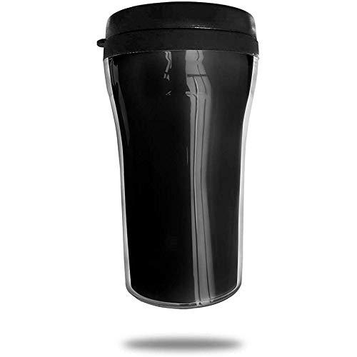 Clipart Vertikale Streifen Reisekaffeetasse 3D-Druck Tragbarer Saugnapf, Isolierte Teetasse Wasserflasche Trinkbecher zum Trinken Mit Deckel 8,54 oz (250 ml)