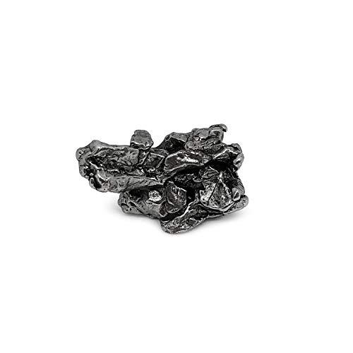 Eisenmeteorit Sternschnuppe echter Meteorit Himmelsstein Himmelseisen mit Nickel-Eisen-Legierung aus Argentinien Campo del Cielo ca. 15 Gramm individuelle einzigartige Form