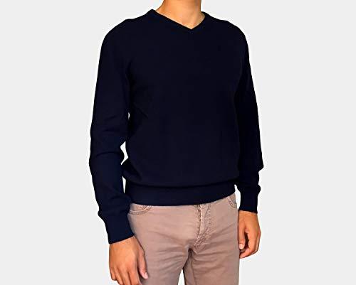 Jersey De Punto Hombre - 100% Cachemir - Made in Italy