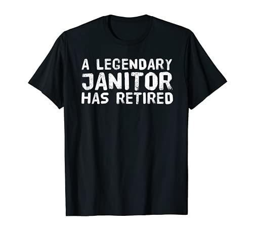 Un legítimo portero se ha retirado divertido regalo limpio de jubilación Camiseta