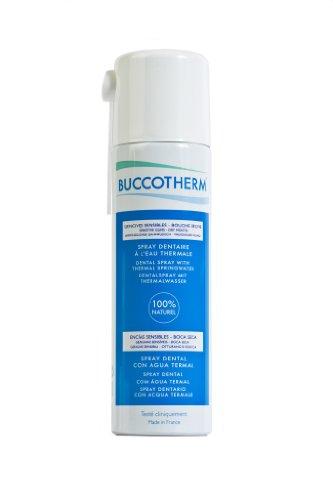 Buccotherm Spray aliento fresco dental 100% Agua termal de castéra Verduzan, primer tratamiento de agua termal para dientes y encías