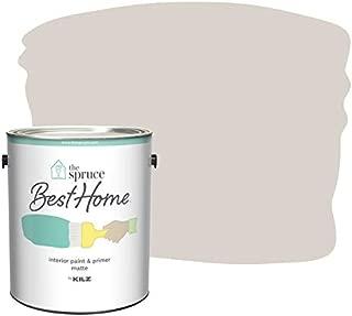 The Spruce Best Home by KILZ 15123601 Interior Matte Paint & Primer in One, 1 Gallon, SPR-21 Minimalist Look