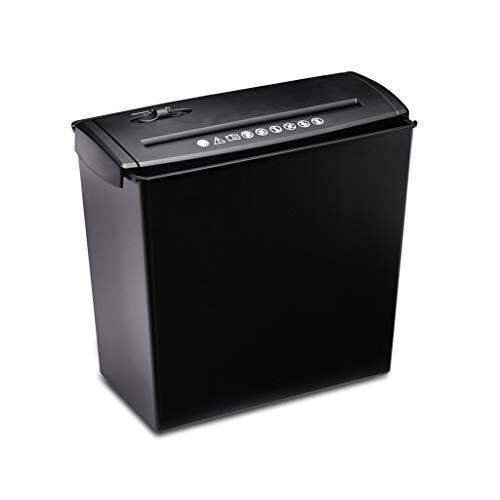 TUCY Mini Electric Aktenvernichter Desktop-Tragbarer Dokumentenvernichter Überlastung Und Thermischer Schutz, Ordnung for Büro Und Zu Hause (Size : 10L)