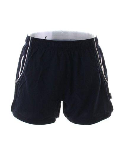 GAMEGEAR Cooltex Short de Sport - Bleu - Bleu Marine/Blanc - Large