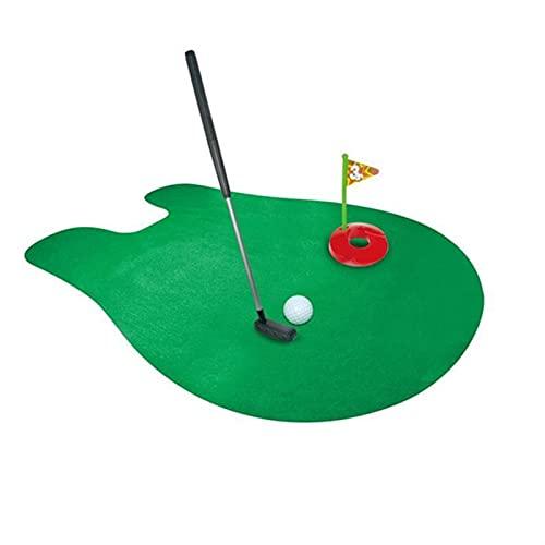 GDYJP Juego de Inodoro Juguete de Golf Juguete de Golf Juguete Juega Juego de Golf PRÁCTICA Interior Mini Golf Regalo DE Regalo DE Golf Golf COMPRENSION Accesorio