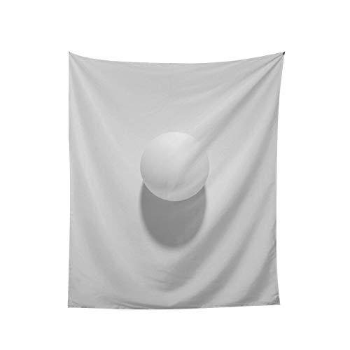 Pingpong - Tapiz para colgar en la pared para ventana, decoración del hogar, cortina para dormitorio, collage para dormitorio, oficina, 152,5 x 152,5 cm